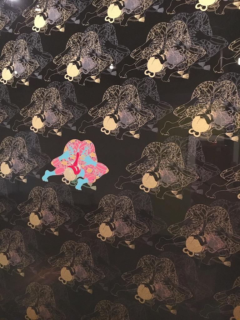 Een eigentijdse interpretatie van het verhaal, met een grote mate van vrijheid, door de Japanse kunstenaar Takeda Hideo.